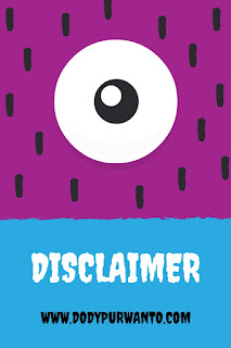 Disclaimer Blog Dody Purwanto
