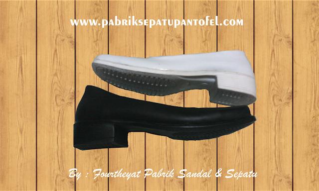 Pabrik Produsen Pembuatan Sepatu Pantofel PDH Perwira Dinas Polwan Perawat dan Pelajar Wanita