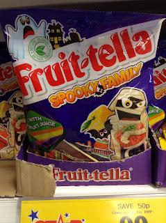 fruittella spooky family
