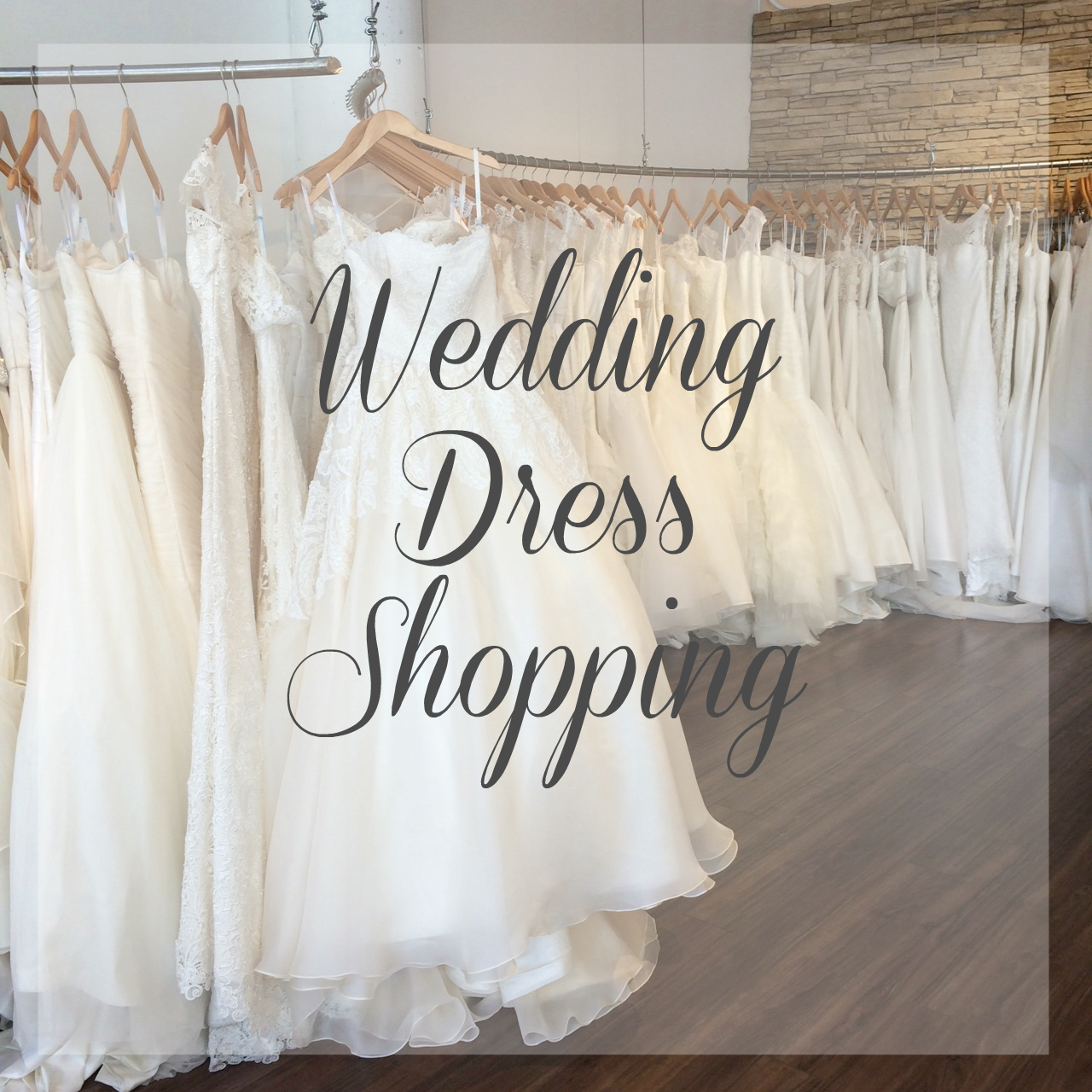 From Foothills to Fog: Wedding Wednesday: Dress Shopping