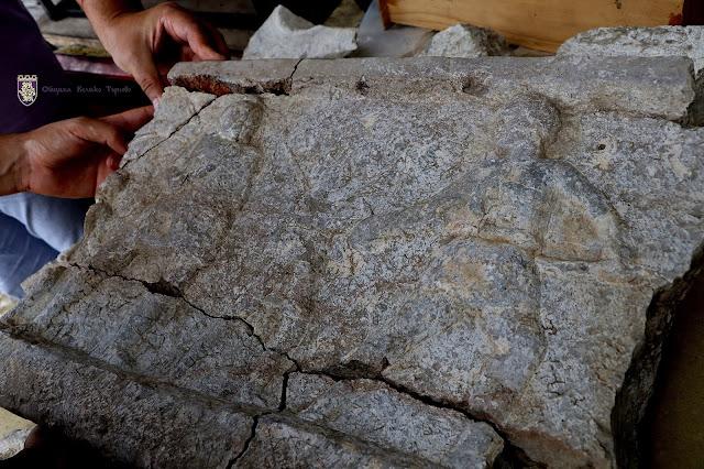 Unique relief with gladiators found in Nicopolis ad Istrum, Bulgaria