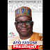 Governor Ayodele Fayose unveil and added PDP logo to campaign poster