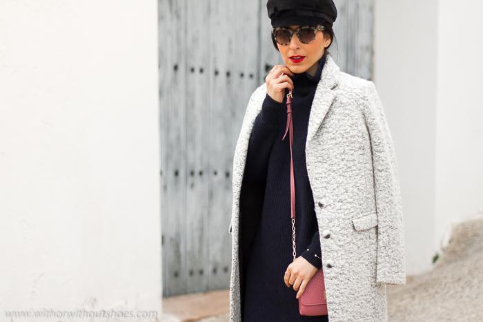 Ideas de looks de mujer bonitos estilo para vestir en invierno frio y abrigarse de la influencer blogger de moda