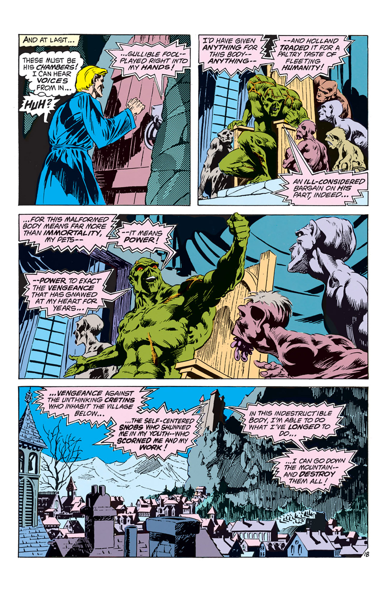 Swamp Thing (1972) Issue #2 #2 - English 19