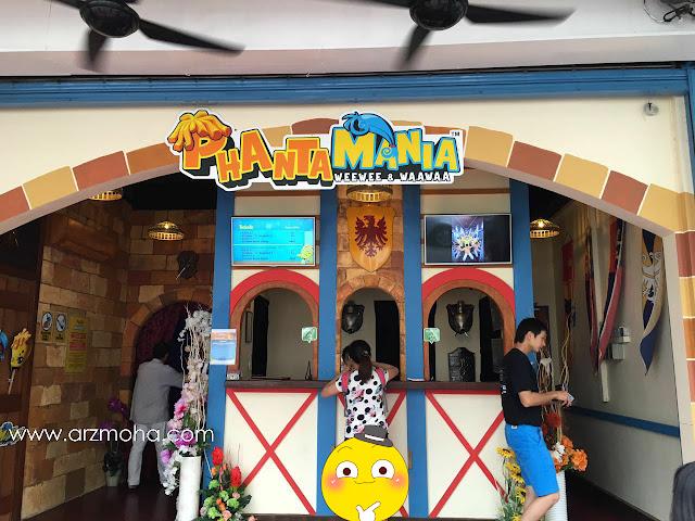Phantamania Penang, review by blogger utara, tempat menarik di pulau pinang, museum menarik di penang,