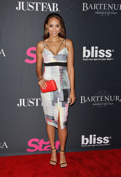 Amber Stevens on Red Carpet