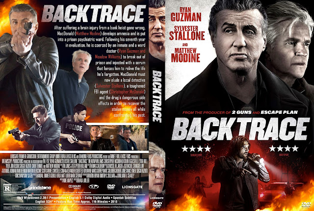 Backtrace DVD Cover
