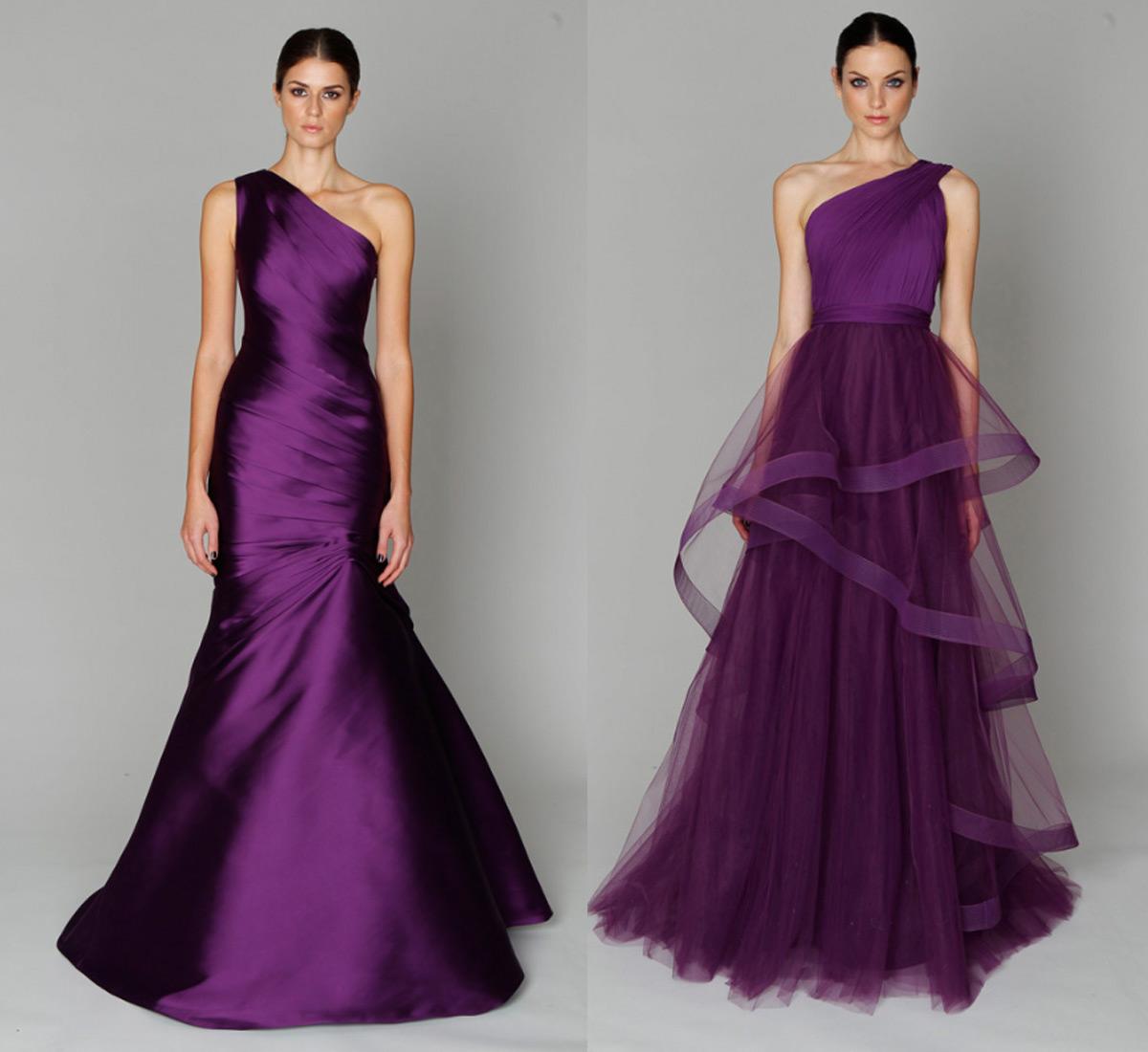 Cheap Wedding Gowns Online Blog: Monique Lhuillier Evening ...