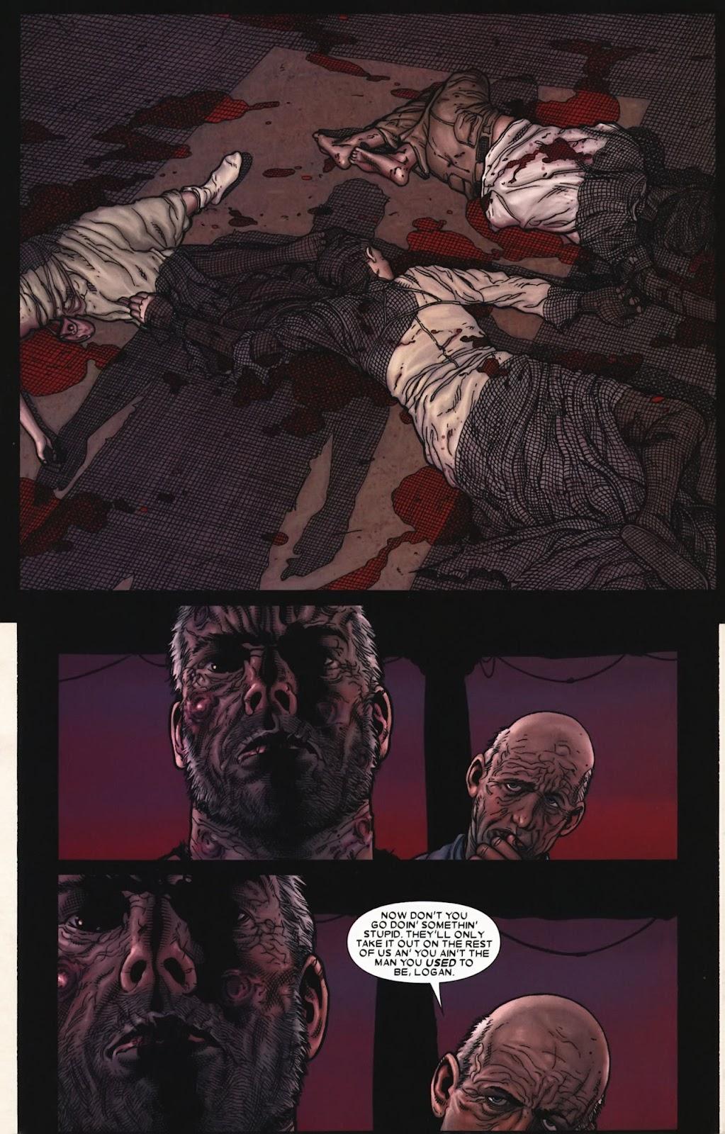 Read online Wolverine (2003) comic -  Issue #72 - 25