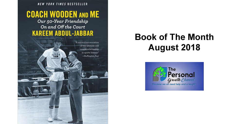Personal Development Book Club Book of The Month Coach Wooden and Me