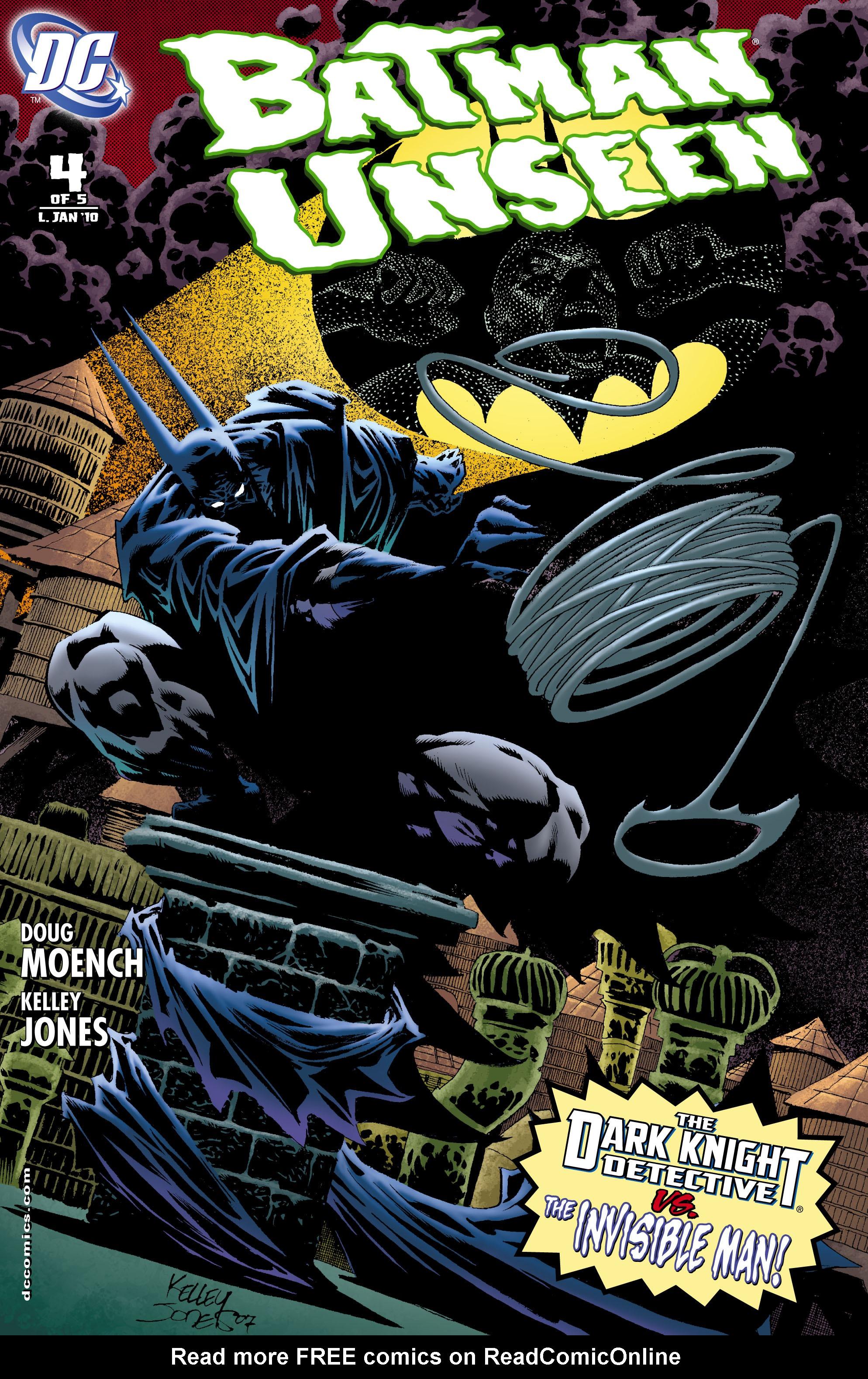 Batman: Unseen 4 Page 1
