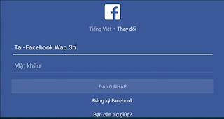 đăng nhập facebook an toàn