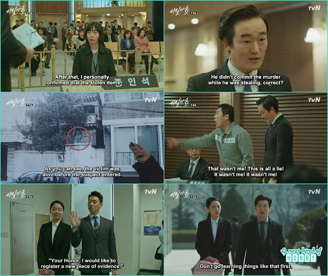 Eun Soo submit the footage evidence in the court and court punish the accuse -  Secret Forest: Episode 1  korean Drama