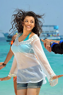 Kajal Spicy pics from Businessman