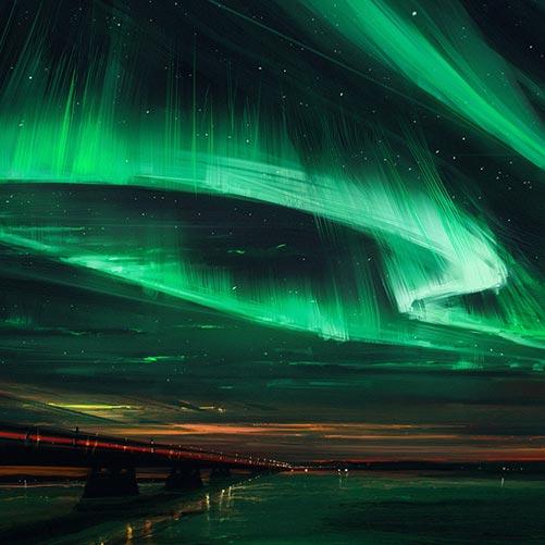 Northern Lights Wallpaper Engine