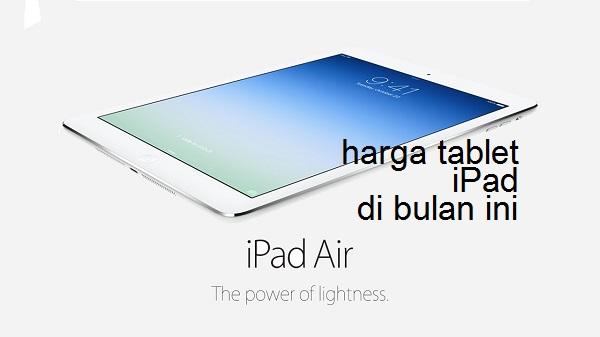 Harga iPad