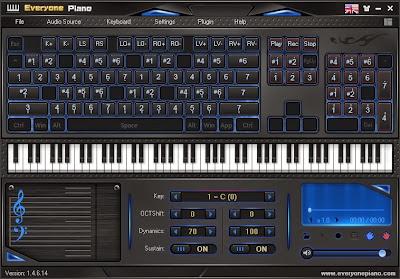Download Software Piano Untuk PC/Laptop Full Version (EveryonePiano)