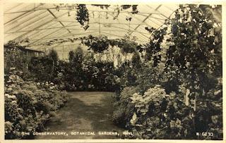 Rhyl Botanical Gardens conservatory