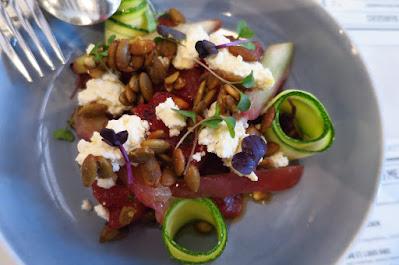 Market Grill, watermelon salad