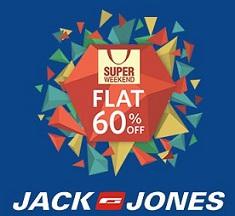 Jack & Jones Men's Clothing - Flat 60% Off