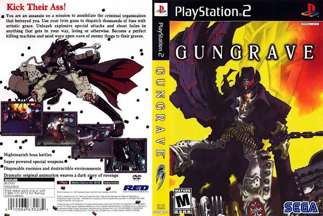 Capa Gungrave PS2
