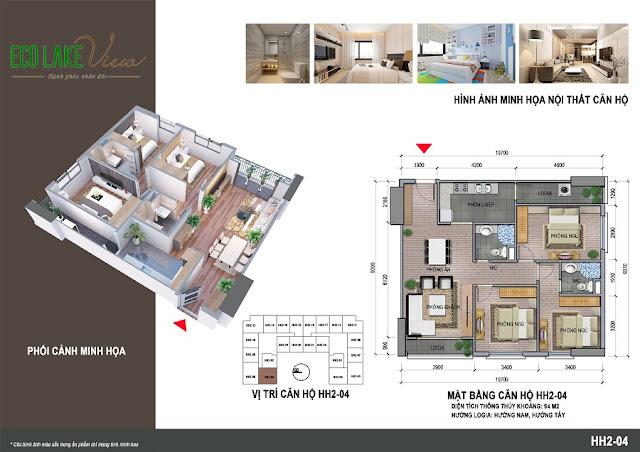 Thiết kế căn hộ HH-04