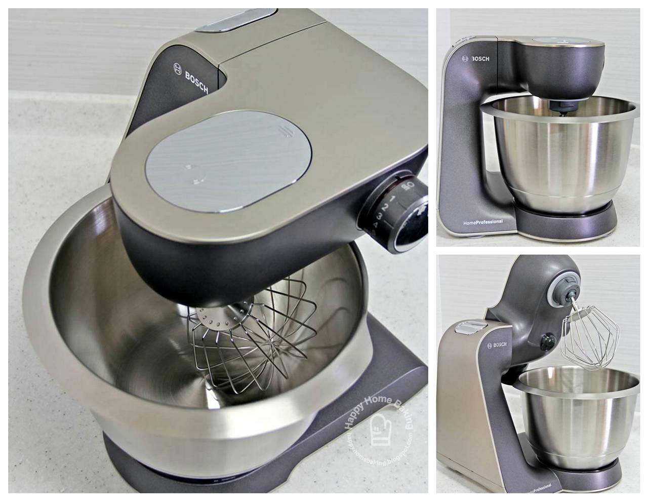 Bosch Kitchen Mixer Chinese Knife Happy Home Baking My New Helper