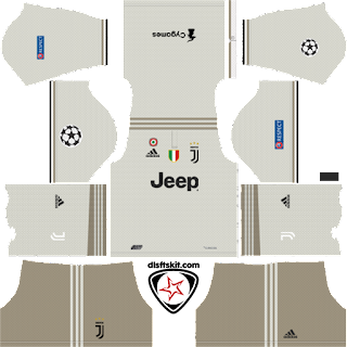 4d93c2c7746 2018-2019 Juventus DLS Kits and Logo - DLS 18 17 - dlsftskit.com ...
