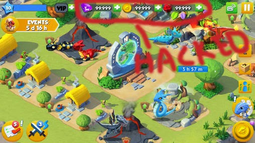 Mod Game Dragon Mania Legends Apk