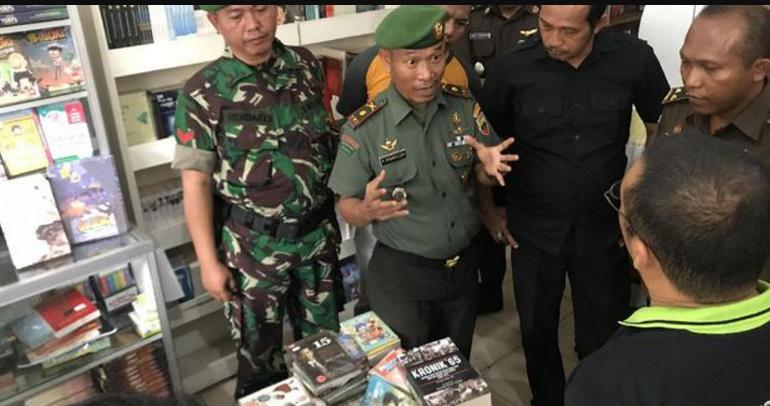 Buku karya Budiman Sudjatmiko Dituding Mengandung Unsur PKI, disita aparat gabungan Kodim & Kejaksaan