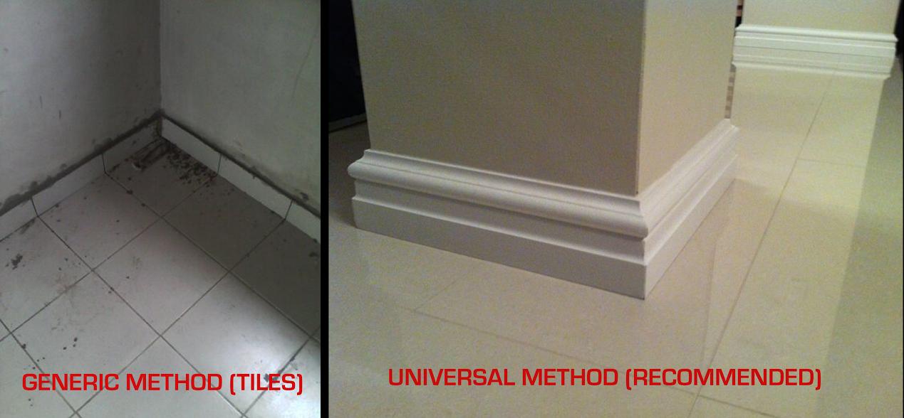 Home Improvement Tips Skirting Boards Vs Ceramic Tiles