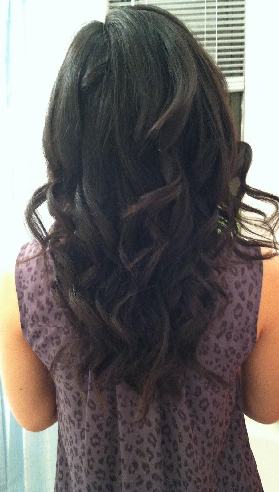 Making Natural Curls Looser