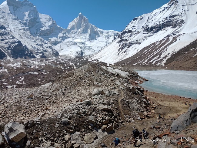 Kedartal Trek Mt Thalaysagar Mt Brigupanth  Uttarakhand Himalayan trekking