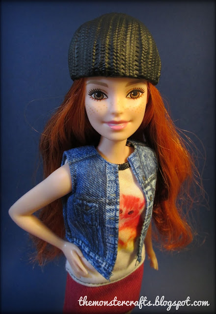 Barbie fashionistas petite monster crafts review