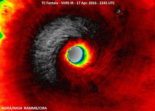 Cyclone tropical très intense Fantala