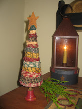 My Homespun Raggy Prim Christmas tree Tutorial