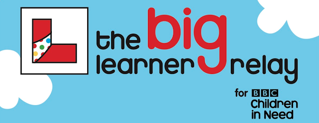 Children in Need - The Big Learner relay - Fundraising