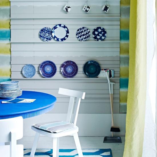 Coloré cuisine-salle à manger