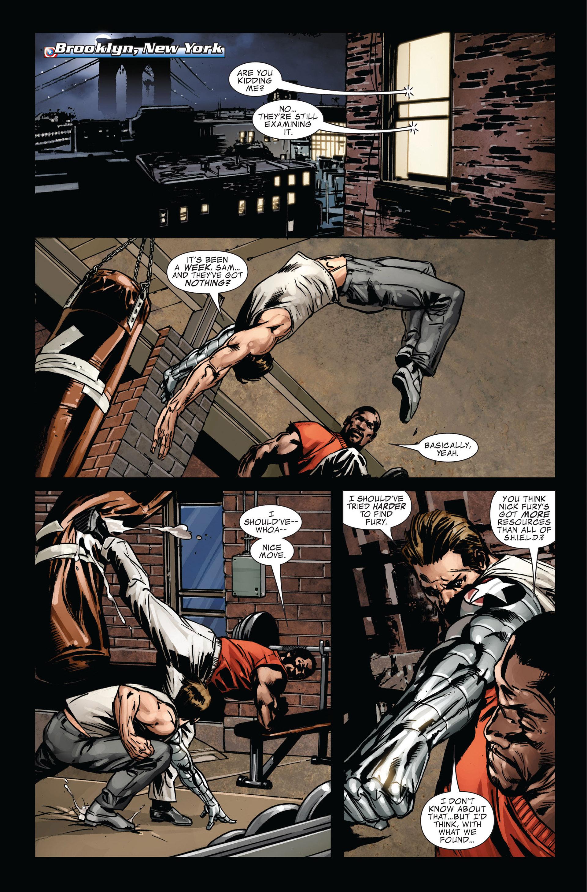 Captain America (2005) Issue #39 #39 - English 6