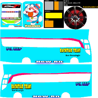 Download Livery Bus Bachtiar Trans