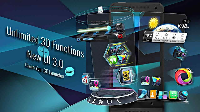 next launcher 3d shell pro apk free download