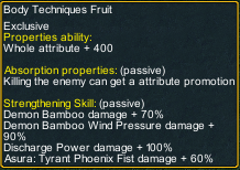 One piece marine defense 261 Garp Body Techniques Fruit detail