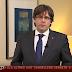 """VÍDEO: Puigdemont exige la """"liberación"""" de sus consejeros"""