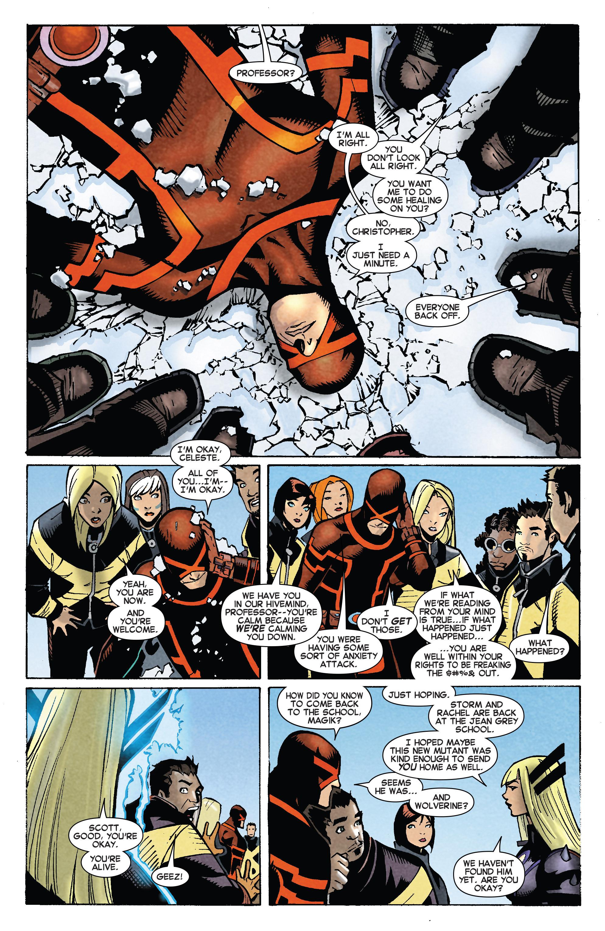 Read online Uncanny X-Men (2013) comic -  Issue #27 - 16