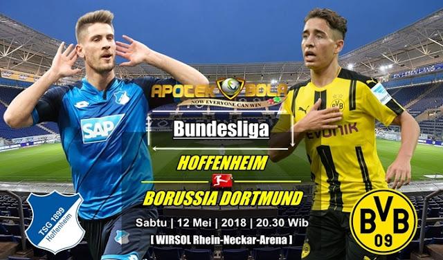 Prediksi Hoffenheim vs Borussia Dortmund 12 Mei 2018