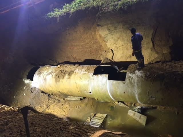 Vụ vỡ đường ống nước sông Đà – đã làm thì phải chịu