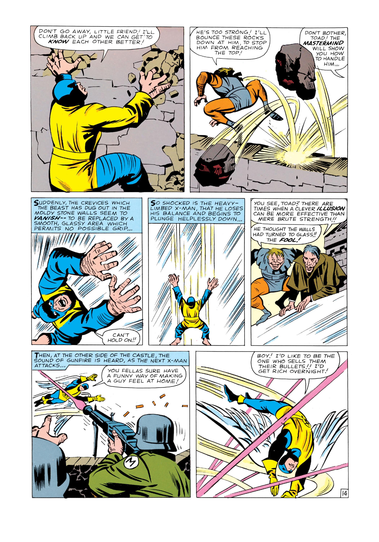 Read online Uncanny X-Men (1963) comic -  Issue #4 - 15