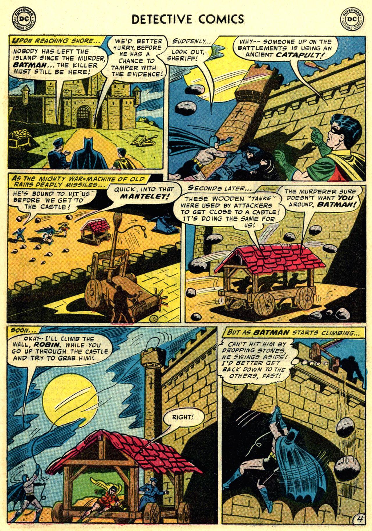 Read online Detective Comics (1937) comic -  Issue #246 - 6