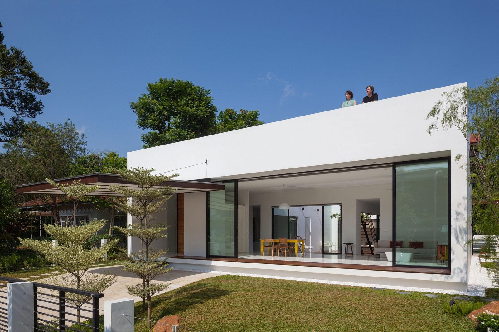 Modelos de casas dise os de casas y fachadas fotos for Casa moderna un piso