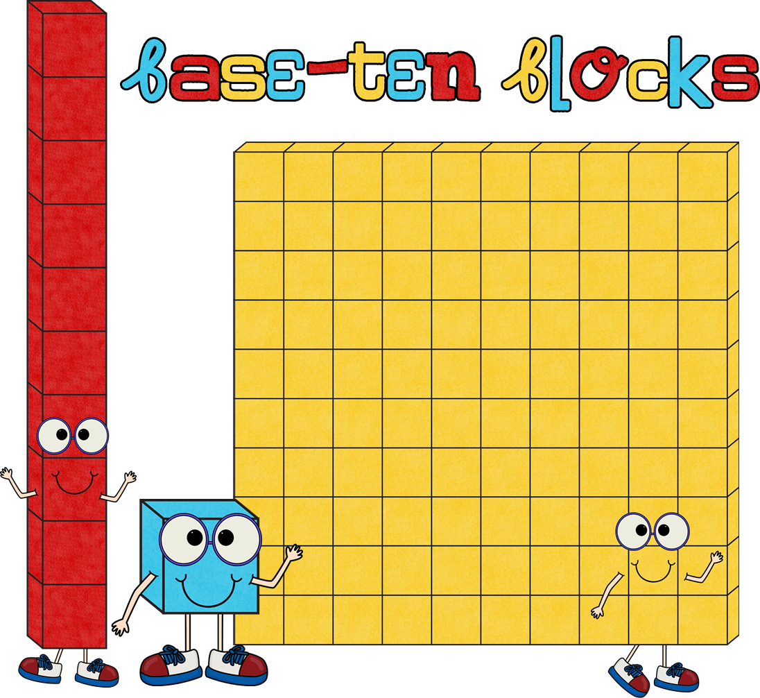 Oblique Mab Block Base 10 Blocks Clip Art